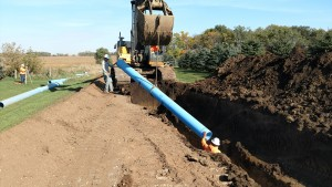 14 inch pipe for Madison - Segment 1