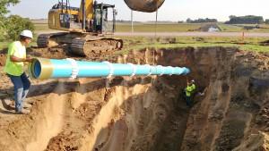 16 inch pipe for Madison - Segment 1