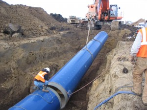 54 inch pipe on SD - Segment 7