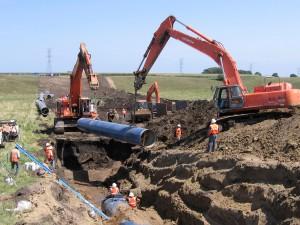 54 inch pipe on SD - Segment 8