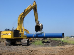 54 inch pipe on SD - Segment 5