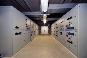 Electrical Switchgear Building at the Water Treatment Plant