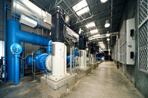 High Service Pump Station at the Water Treatment Plant