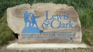 Lewis & Clark Sign