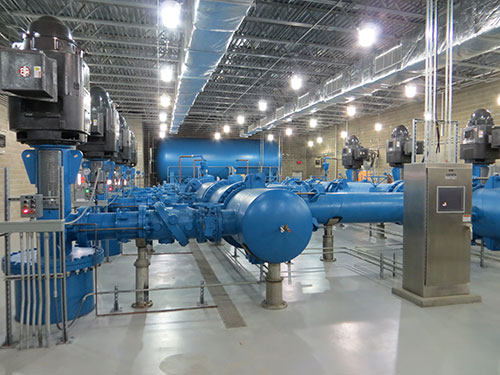 Lewis and Clark Regional Water System | Pump Stations