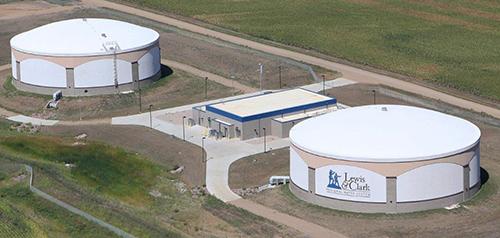 Lewis And Clark Regional Water System Water Storage